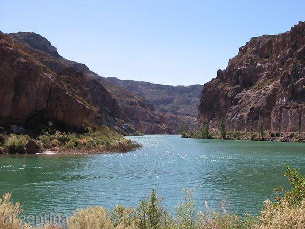 Río Atuel en San Rafael