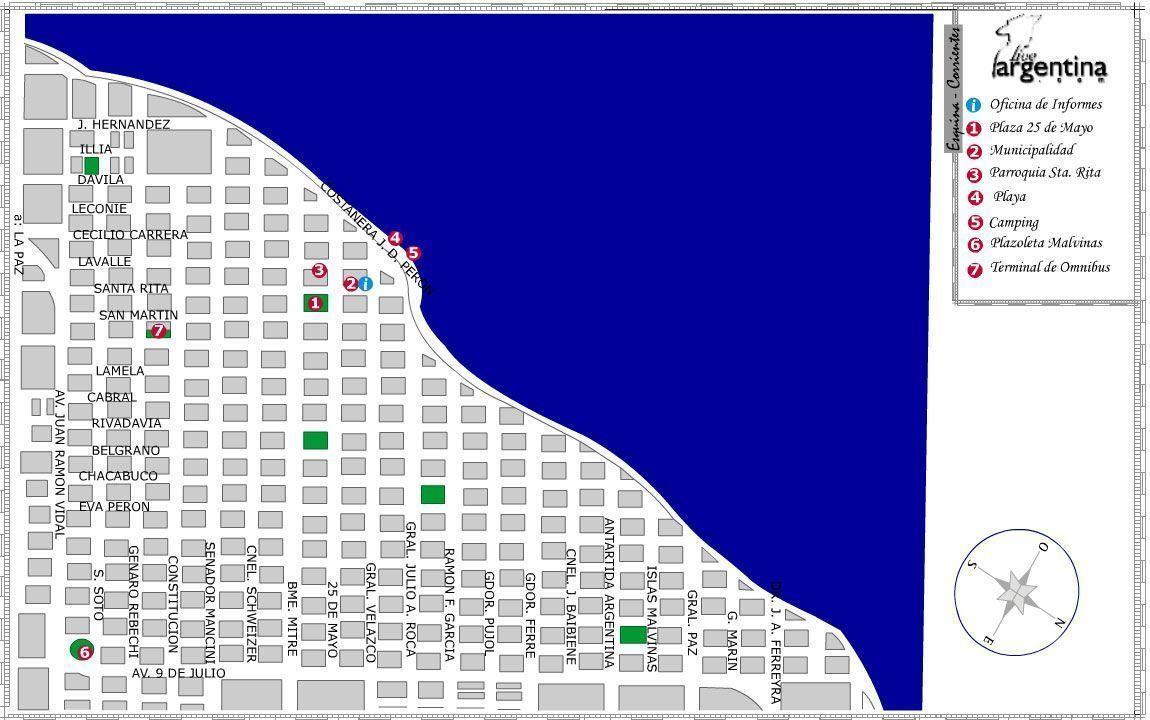 Mapa de Esquina