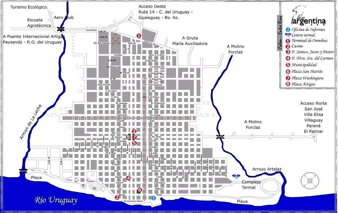 Mapa de Colon