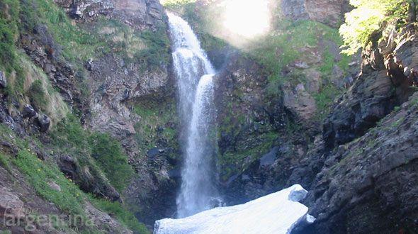 Cascada Escondida Caviahue