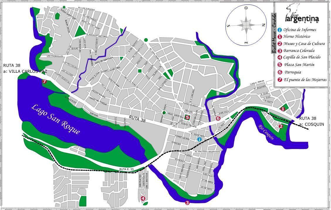 Mapa de Bialet Masse