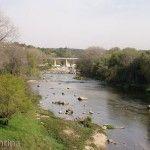 Río Cosquin y Puente