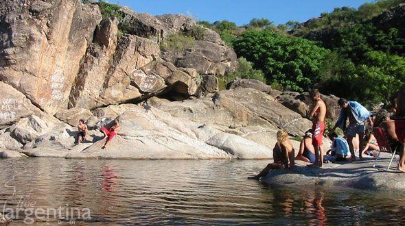 Playas Mina Clavero