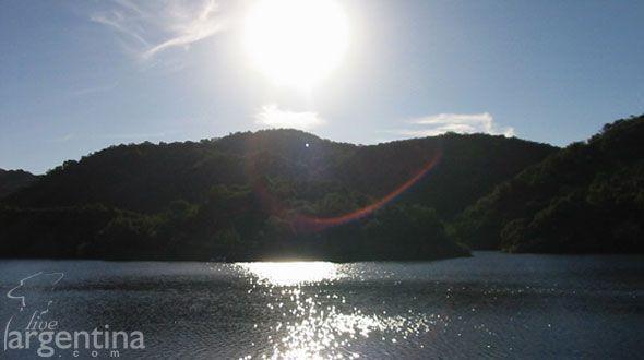 Dique La Quebrada Río Ceballos