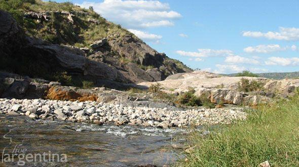 Río Quilpo San Marcos Sierras