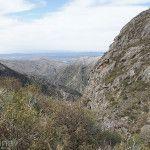 Vista en el Parque Nacional Quebrada del Condorito
