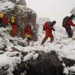 Trekking en la Nieve
