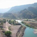 Río Atuel desde Valle Grande