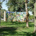 Mural en Plaza 25 de Mayo
