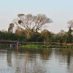 Pescando En Riacho Goya