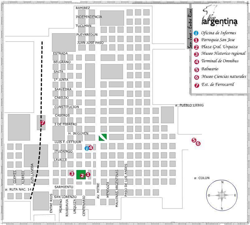 Mapa de Villa San Jose