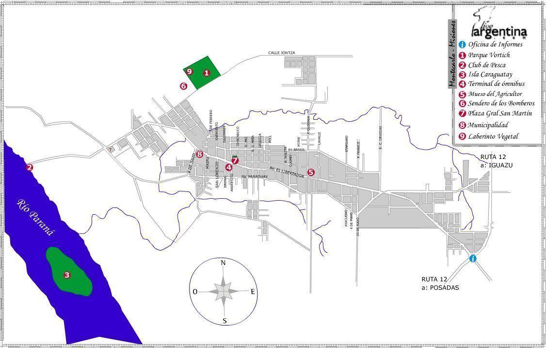 Mapa de Montecarlo