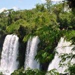 Caida de Agua Parque Nacional Iguazu