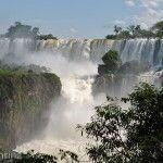 Mucha Agua en Parque Nacional Iguazu