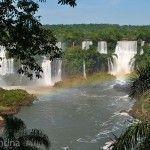 Vista Lado Brasilero Parque Nacional Do Iguacu