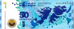 50 Pesos Malvinas