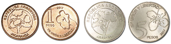 Moneda Argentina, Pesos Argentinos