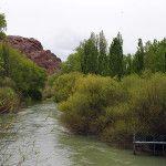 Dique Ameghino Río Chubut