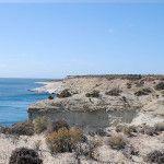 Costas de Chubut en Punta Loma