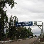 Ingreso a Colonia Sarmiento