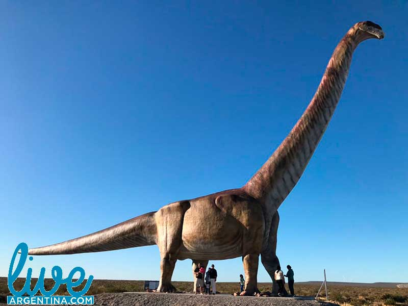 Titanosaurio de Trelew