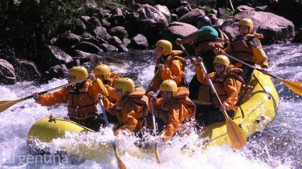 Rafting en el río Alumine