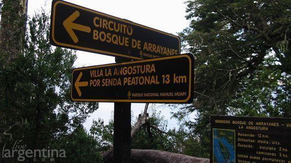 Trekking en el Parque Nacional Arrayanes